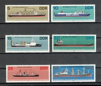 ( 008schiffe ) DDR Michelnummer 2709 - 2714 postfrisch