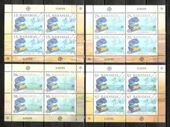 009 - Bahamas Michelnummer 1224 - 1227 Kleinbogen postfrisch