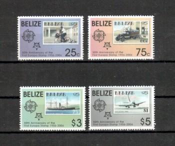 011 - Belize Michelnummer 1303 - 1306 postfrisch