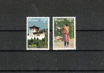 014 - Bhutan Michelnummer 2488 - 2489 postfrisch