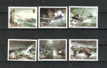( 022schiffe ) GB - Jersey Michelnummer 324 - 329 postfrisch