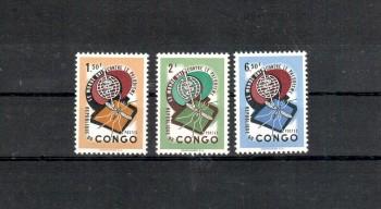 Kongo - Kinshasa Michelnummer 92 - 94 postfrisch