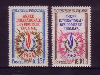 frz.Polynesien 87 - 88 postfrisch