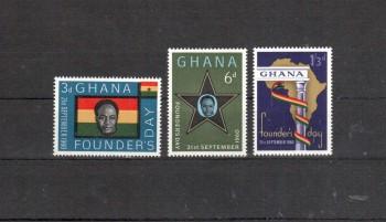 Ghana Michelnummer 88 - 90 postfrisch