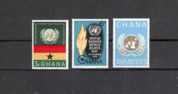 Ghana Michelnummer 91 - 93 postfrisch