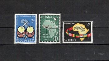 Ghana Michelnummer 94 - 96 postfrisch