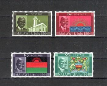 Malawi Michelnummer 15 - 18 postfrisch