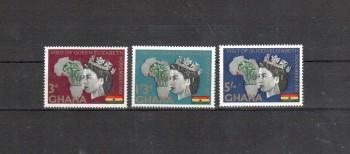 Ghana Michelnummer 109 - 111 A postfrisch