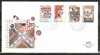 Niederlande Michelnummer 1109 - 1112 FDC