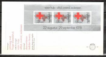 Niederlande Michelnummer 1125 Block 18 FDC