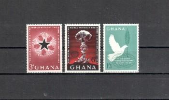 Ghana Michelnummer 121 - 123 postfrisch