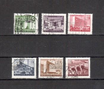 Ungarn Michelnummer 1255 - 1260 gestempelt