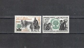 Marokko Michelnummer 451 - 452 postfrisch