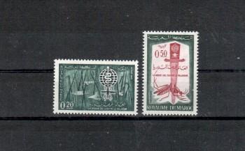 Marokko Michelnummer 504 - 505 postfrisch