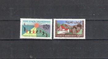 Marokko Michelnummer 536 - 537 postfrisch