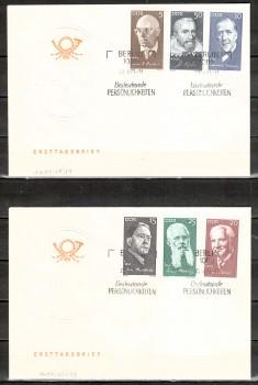 DDR Michelnummer 1644 - 1649 FDC