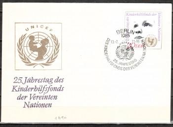 DDR Michelnummer 1690 FDC