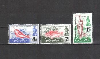Gibraltar Michelnummer 179 - 181 postfrisch