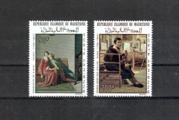 Mauretanien Michelnummer 323 - 324 postfrisch