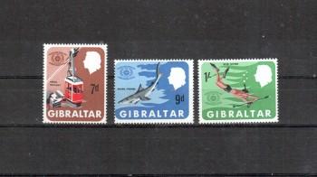 Gibraltar Michelnummer 202 - 204 postfrisch