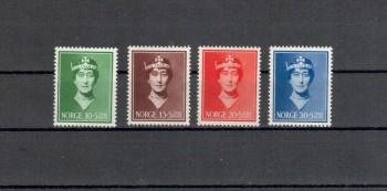 Norwegen Michelnummer 203 - 206 postfrisch