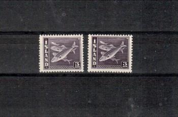 Island Michelnummer 209 A+B postfrisch