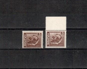 Island Michelnummer 210 A+B postfrisch