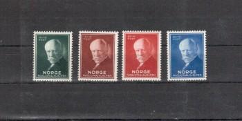 Norwegen Michelnummer 211 - 214 postfrisch