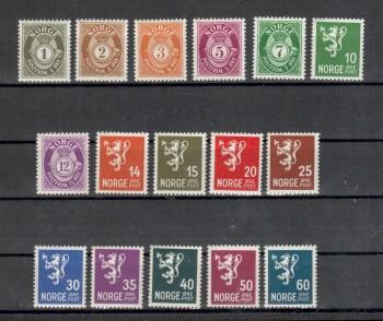 Norwegen Michelnummer 215 - 230 postfrisch