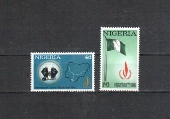 Nigeria Michelnummer 212 - 213 postfrisch