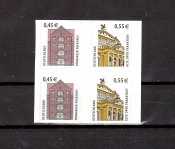 BRD Michelnummer 2303 - 2304 selbstklebend postfrisch