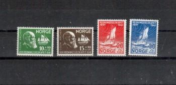 Norwegen Michelnummer 232 - 235 postfrisch