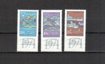 Ungarn Michelnummer 2572 - 2574 A postfrisch