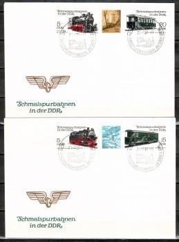 DDR Michelnummer 2629 - 2632 FDC