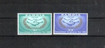 Sambia Michelnummer 20 - 21 postfrisch