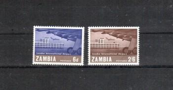 Sambia Michelnummer 32 - 33 postfrisch