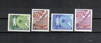 Sansibar Michelnummer 316 - 319 postfrisch