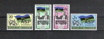Sansibar Michelnummer 349 - 352 postfrisch