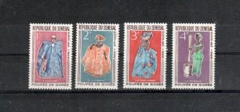 Senegal Michelnummer 319 - 322 postfrisch