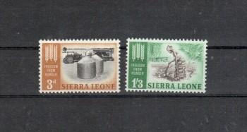 Sierra Leone Michelnummer 221 - 222 postfrisch