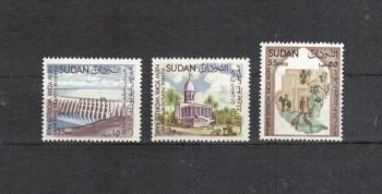 Sudan Michelnummer 200 - 202 postfrisch