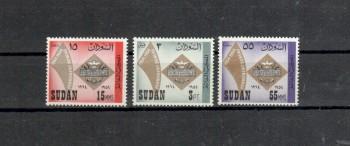 Sudan Michelnummer 206 - 208 postfrisch