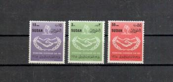 Sudan Michelnummer 215 - 217 postfrisch