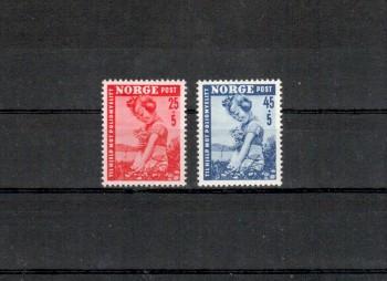 Norwegen Michelnummer 351 - 352 postfrisch