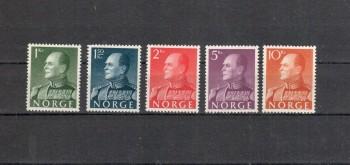 Norwegen Michelnummer 428 - 432 x postfrisch
