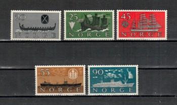 Norwegen Michelnummer 444 - 448 postfrisch