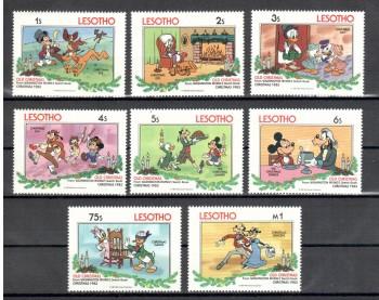 ( 4waltdisney ) Lesotho Michelnummer 433 - 440
