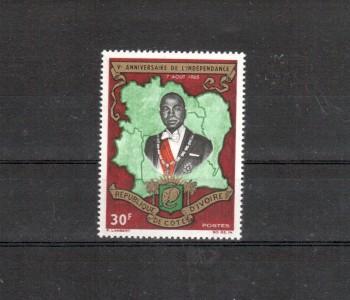 Elfenbeinkueste Michelnummer 285 postfrisch