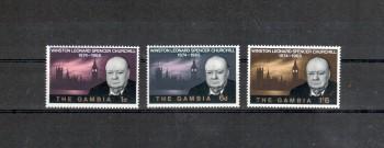 Gambia Michelnummer 207 - 209 postfrisch