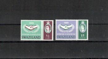 Swaziland Michelnummer 117 - 118 postfrisch